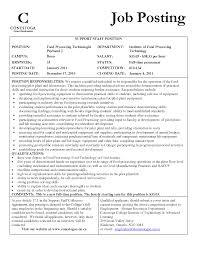 resume for food technologist resume ideas
