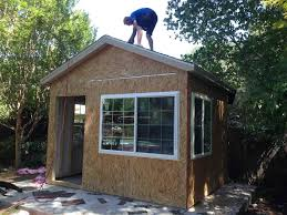 Backyard Studio Kits Down To Business With This Backyard Office Tuff Shed