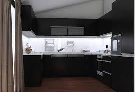 cuisine noir et blanc laqué cuisine noir et blanc laque 9 cuisine mat et cuisine