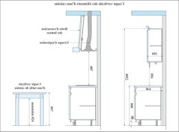 meuble cuisine hauteur hauteur meuble de cuisine 4150 sprint co