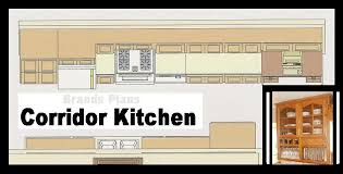 fair 70 one wall kitchen floor plans design ideas of best 25 one