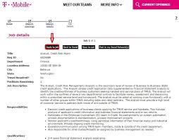 how to apply for t mobile jobs online at tmobile careers