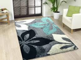 Flower Area Rug Flower Area Rugs Pattern Wonderful Collection City Black Size