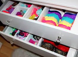 How To Organize Clothes Without A Dresser by Bras U0026 Panties Storage Tips Youtube