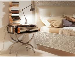 diamond bedside table by bizzotto