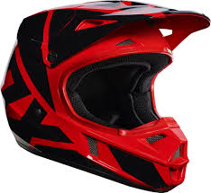boys motocross helmet 2017 fox v1 race youth kids motocross helmet red 1stmx co uk