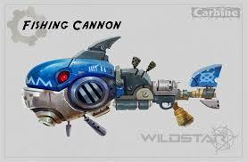 artstation wildstar fishing cannon concept max gon