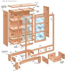 Woodworking Bookcase Plans by Sliding Door Bookcase Popular Woodworking Magazine