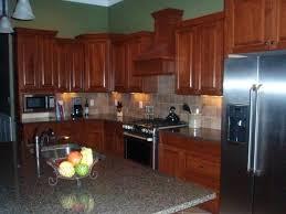 kitchen backsplash cherry cabinets backsplash with cherry cabinets kitchen tile backsplash ideas with