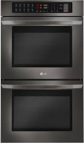 Microwave Toaster Combo Lg Black Stainless Steel Wall Ovens