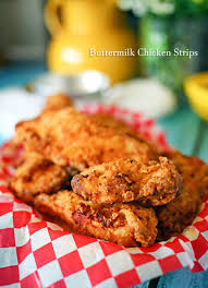 buttermilk chicken strips recipe all things thrifty