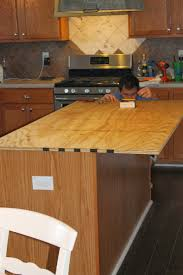 do this plywood countertop stained and sealed for the kitchen