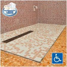 doccia facile soluzione box doccia a filo pavimento trasforma la vasca da