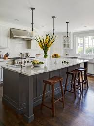 Kitchen Designs White Cabinets Gray And White Kitchens Houzz