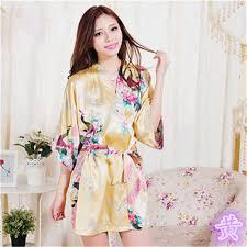 robe de chambre en satin pour femme mukatu satin court japonais kimono robe de chambre japonais robe
