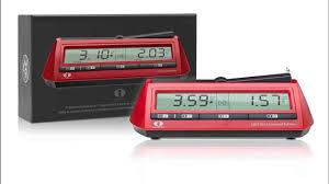 digital chess clocks product review dgt 2010 dgt xl youtube