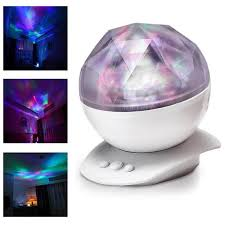 Light Show For Bedroom Rotation Sleep Soothing Color Changing Light