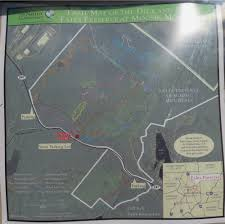 Manasquan Reservoir Map Gone Hikin U0027 Eales Preserve At Moosic Mountain Pa