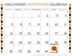 countdown to halloween calendar printable halloween countdown calendar printable online calendar