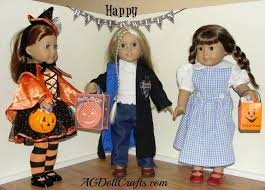 18 Doll Halloween Costumes Happy Dolloween Ag Doll Crafts