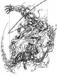 spiderman venom crnage viskratos deviantart