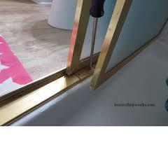 Shower Door Bottom Guide How To Fix A Sliding Shower Door Guide