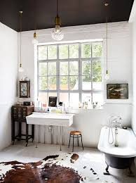 Black And White Bathrooms Ideas by Here U0027s Why You Should Paint Your Ceiling Black Ceilings Dark