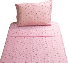 dotted flowers twin sheet set pink floral bedding contemporary