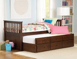 Twin Captains Bed With Drawers Homelegance 571pe 1 Zachary Espresso Trundle Twin Bed