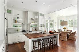 wood countertops for kitchens houzz