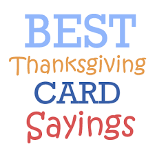 thanksgiving card sayings festival collections