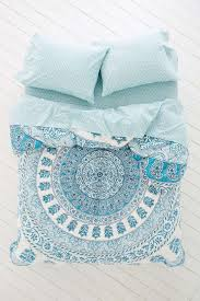 bedding tie dye bedding boho chic blue bohemian vintage comforters