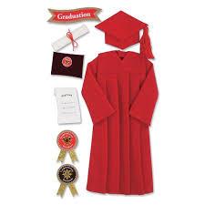 graduation cap stickers jolee s seasonal stickers graduation cap and gown walmart