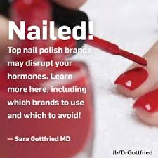 nailed nail polish brands that mess with your hormones plus the