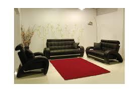 modèle canapé ensemble de canapé en cuir haut de gamme 3 2 1 places péoria