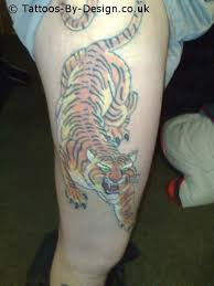 tiger thigh