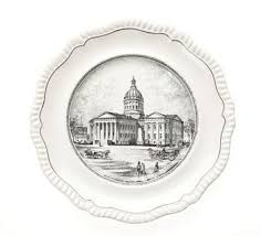 passing the plate the mystery of spode s st louis pattern