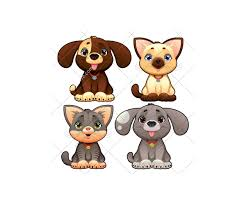 dog and cat vector pack animal vectors dog doggie puppy