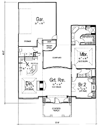 traditional floor plan traditional style house plan 2 beds 2 baths 1772 sq ft plan 312