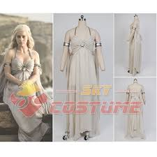Game Thrones Halloween Costumes Daenerys Aliexpress Buy Game Thrones Daenerys Targaryen Chiffon
