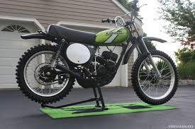 restored vintage motocross bikes for sale 1976 kawasaki kx125 a3 restored showcase bike vintagemx net