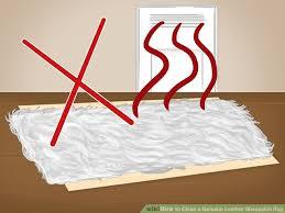 Sheepskin Rug Cleaning How To Clean A Genuine Leather Sheepskin Rug 9 Steps