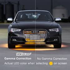 app controlled car lights 6pc car interior neon underglow accent light kit catible with