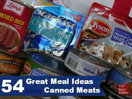 rv cuisine canned meal ideas sandwich fillers and meals