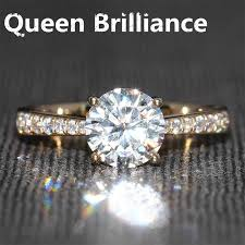real diamond rings images Online cheap 1 2 carat ct f color engagement wedding lab grown jpg