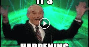Green Man Meme - animated gifs about happy old man its happening meme found