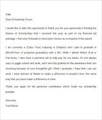 recommendation letter for research scholarship sample contract