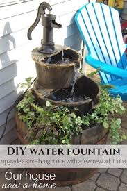 Patio Fountains Diy by 373 Best Outdoor Water Features Images On Pinterest Pond Ideas