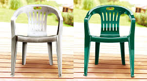 Paint For Outdoor Plastic Furniture by Home Project Paint Your Plastic Lawn Chairs Canadian Living