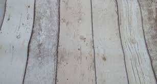 shabby chic light white cream wood distressed panel effect